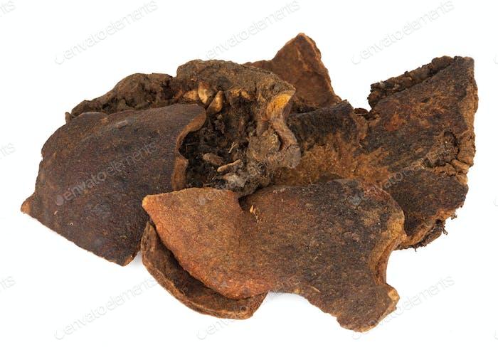 Shi Liu Pi oder botanischer Name Punica Granatum. Ist auch als getrockneter Granatapfel  bekannt