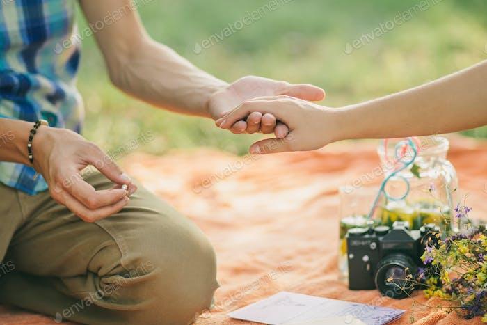 Verlobungsring Vorschlag
