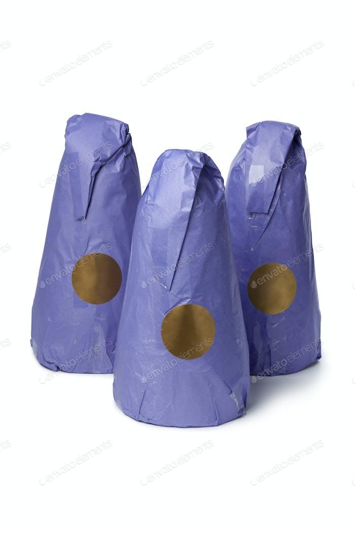Traditional Moroccan sugar cones