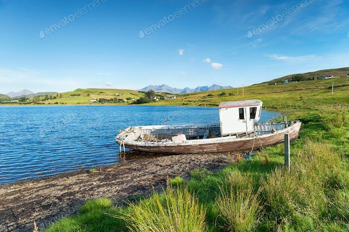 Loch Harport on the Isle of Skye