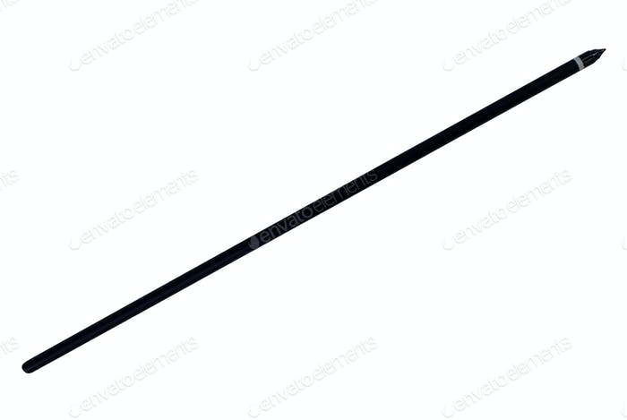 Arrow for a crossbow isolated