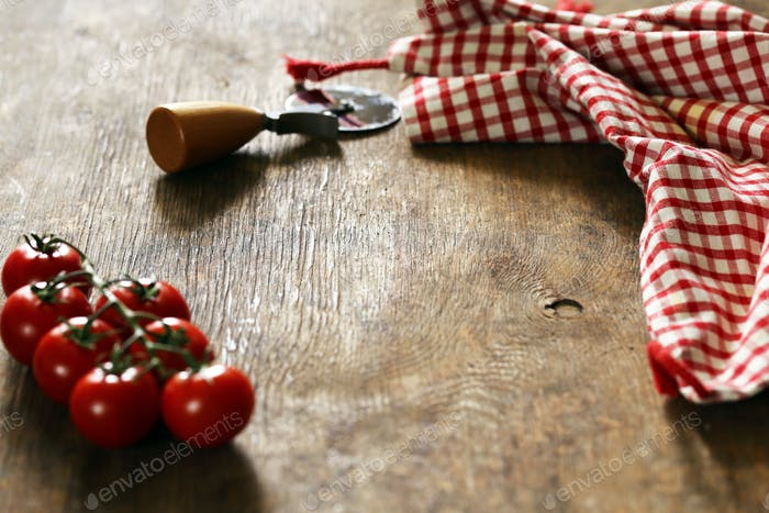 Kitchen Wooden Background