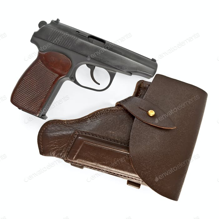 Holster and pistol