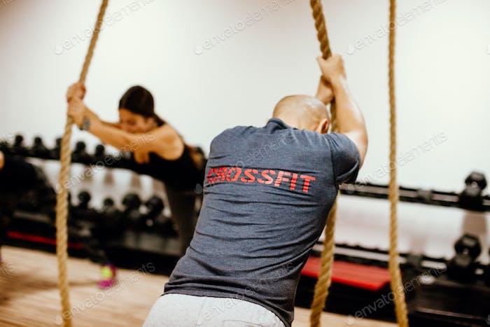 crossfit group training