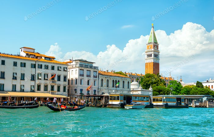 View on San Marco in Venice