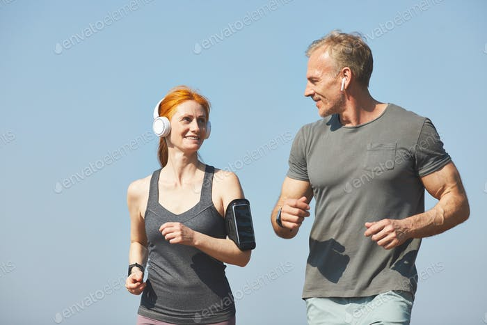 Fitness morning with boyfriend