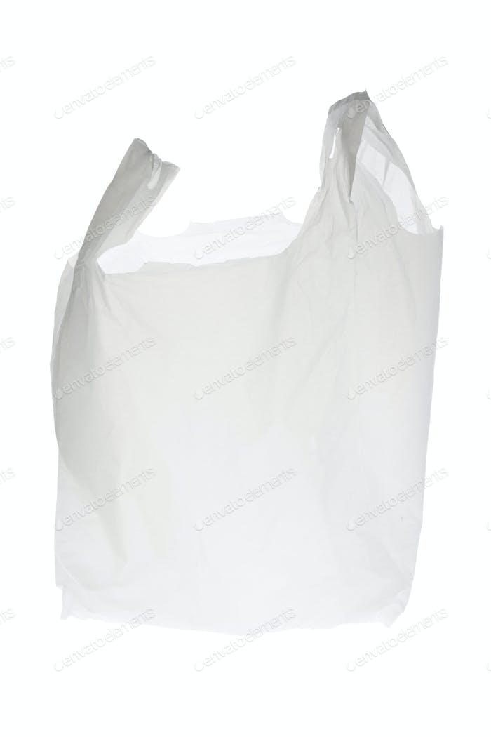 Einkaufstasche aus Kunststoff