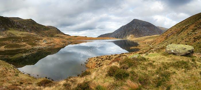Llyn Idwal at Autumn