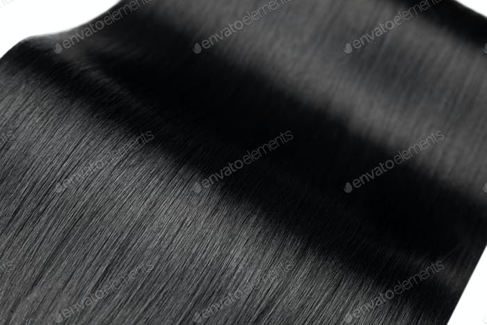 Closeup on luxurious glossy hair