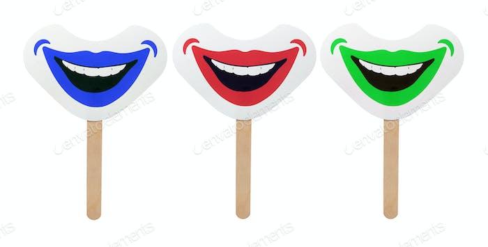 Smiley Gesichtsmasken