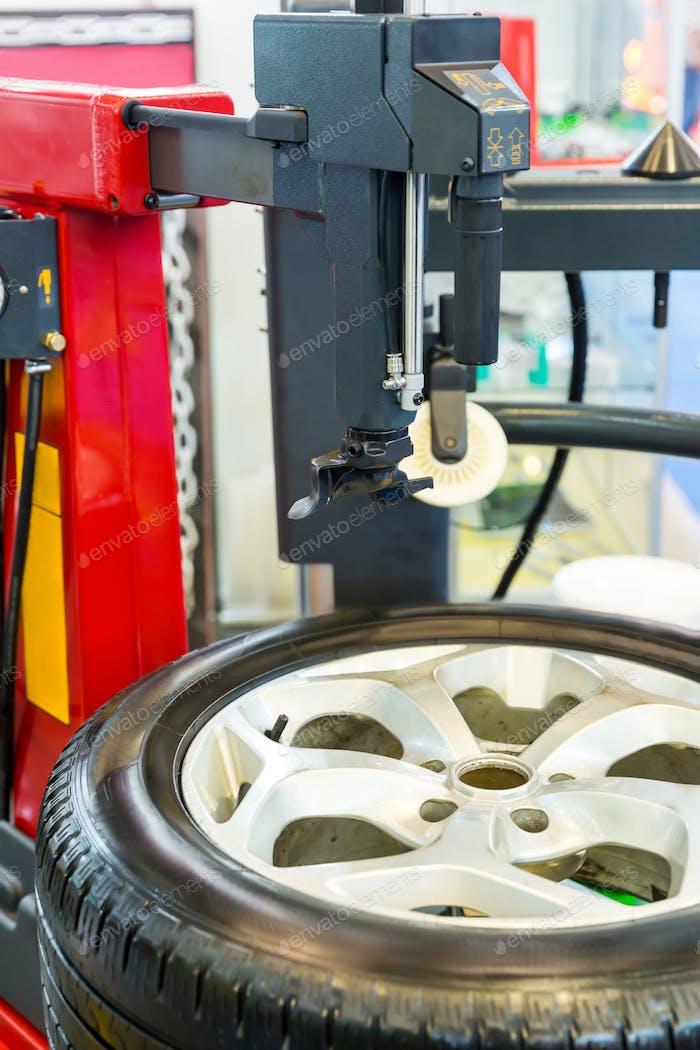 Pneumatische Maschine für Reifenservice, Reifenentfernung