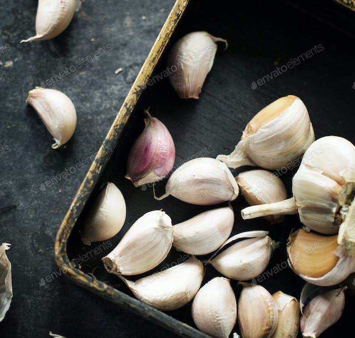 Fresh garlic seasoning