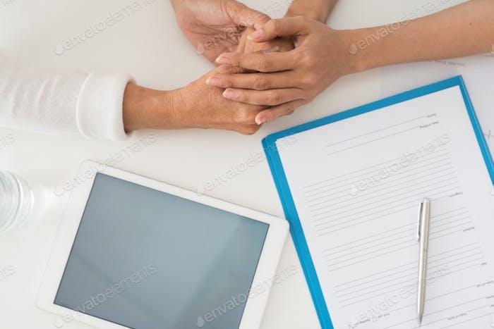 Gesundheitswesen und Medizin für Senioren