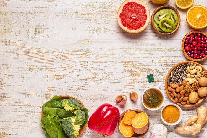 Lebensmittel, die das Immunsystem stärken