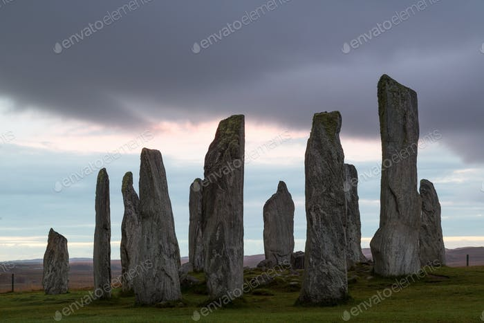 Callanish Standing Stones, Isle of Lewis, Outer Hebrides, Scotland, United Kingdom