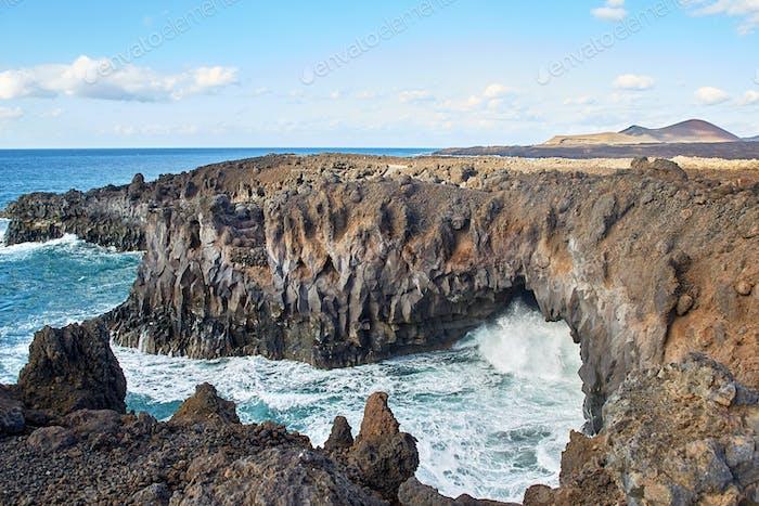 Los Hervideros, Lanzarote, Kanarische Inseln