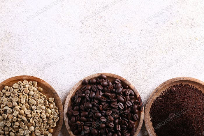 Natural Organic Coffee Beans