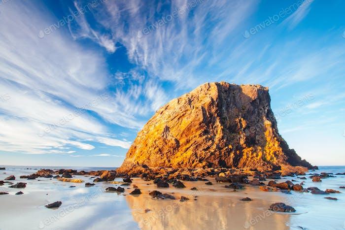 Glasshouse Rocks in Narooma Australia