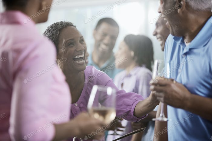 A group of African Americans of similar age, the baby boomer generation