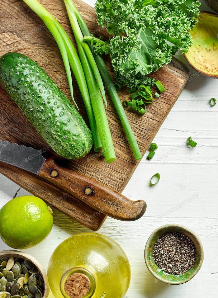 Gesunde Lebensmittelzutaten