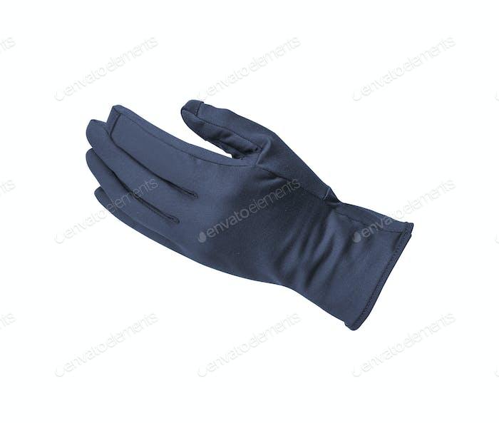 Handschuh isoliert