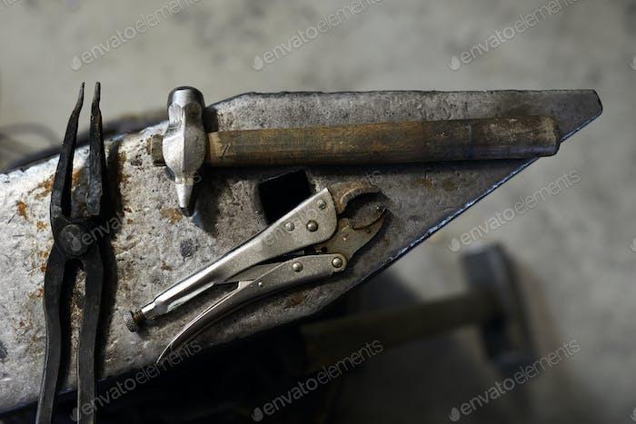 Blacksmiths tools