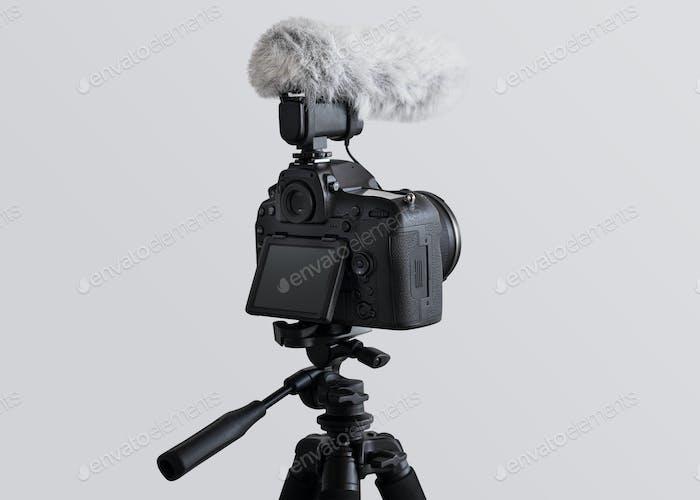 Cámara con micrófono