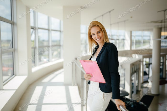 Professional businesswomen working at office