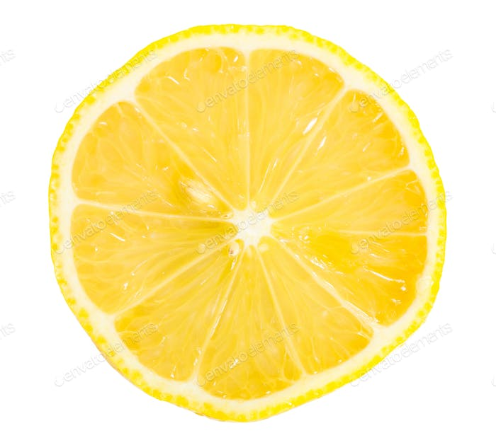Section of lemon