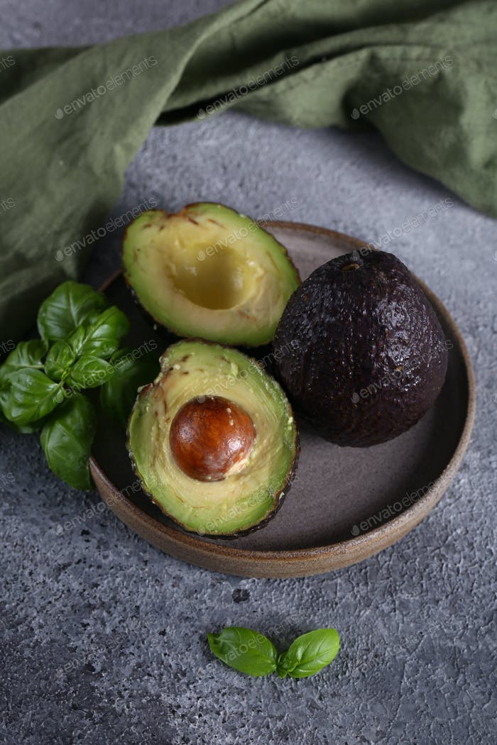 Ripe Organic Avocados
