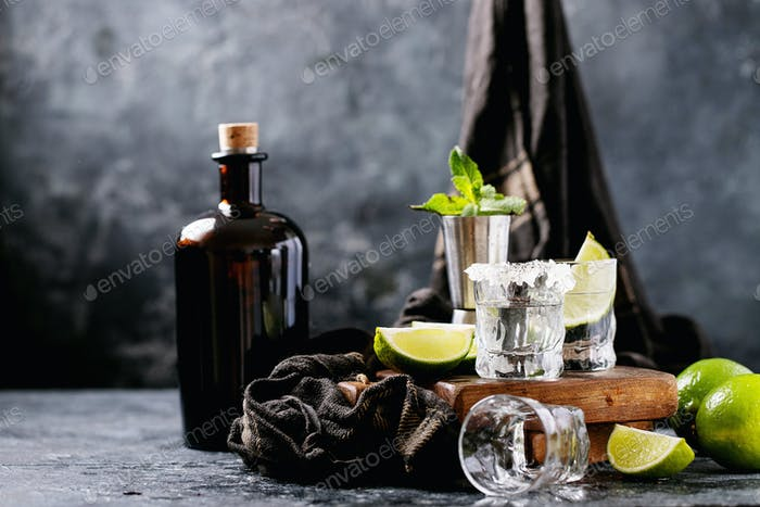 Tequila im Glas