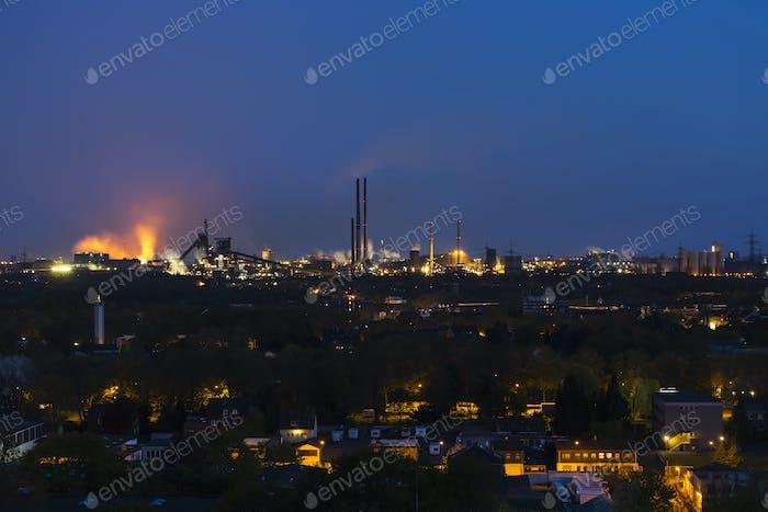 Heavy Industry At Night