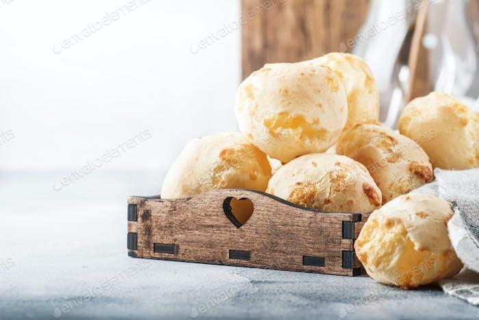 Delicious custard cheese buns