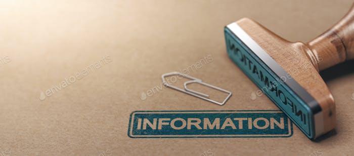 Información sobre el