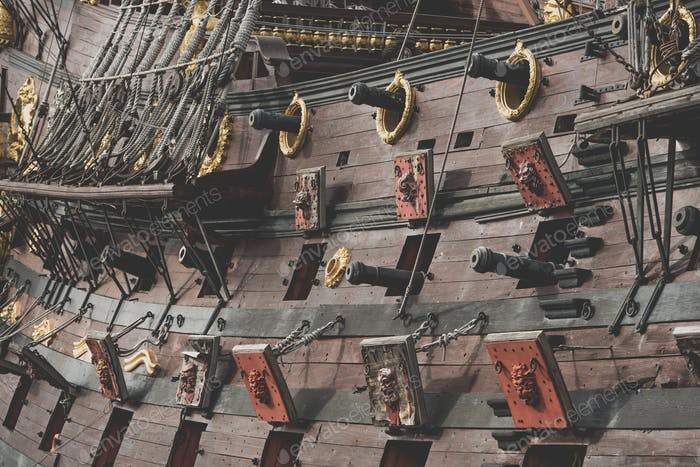 Spanish Galleon Cannons