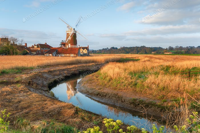 The windmill at Cley next the Sea,