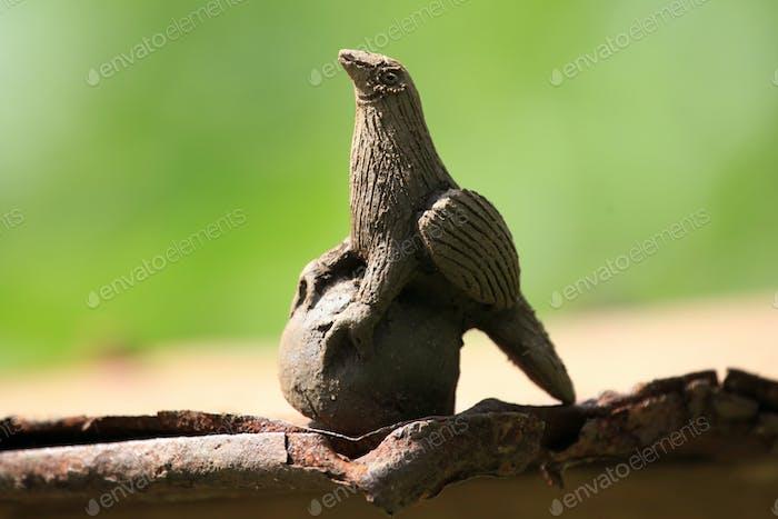 Clay Animal - Bigodi Swamps - Uganda