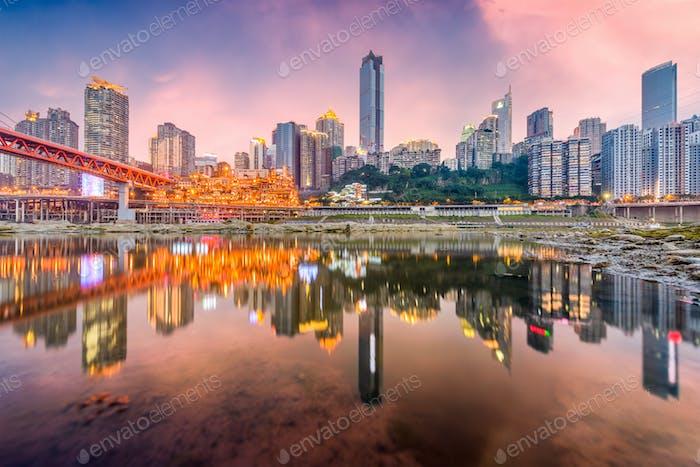 Chongqing, China Skyline