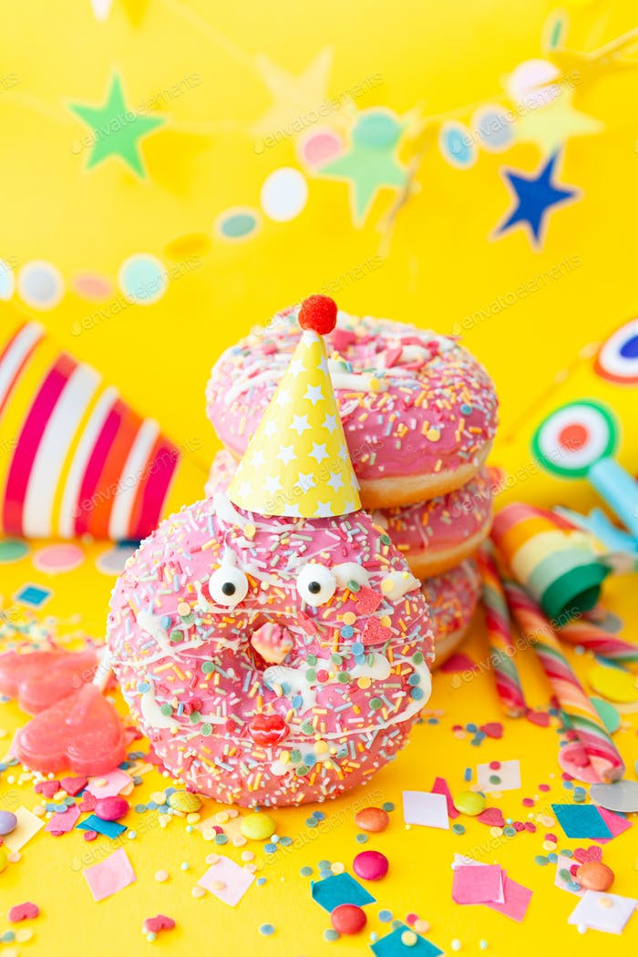 Party sweets and decorations