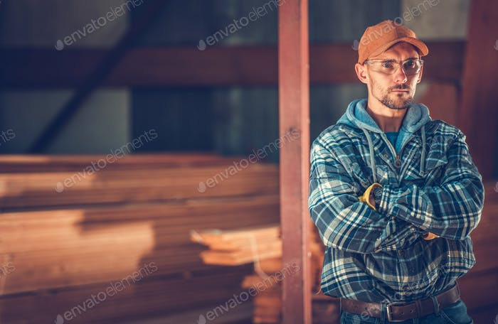 Construction Contractor Portrait