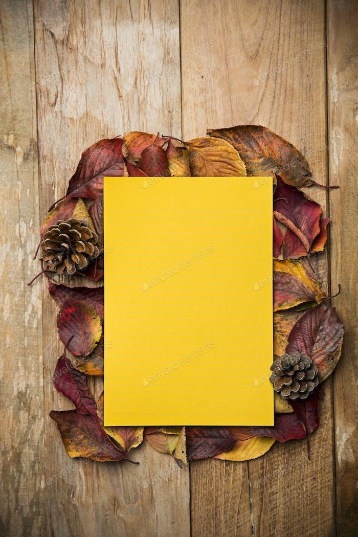 Herbstatmosphäre Objekte