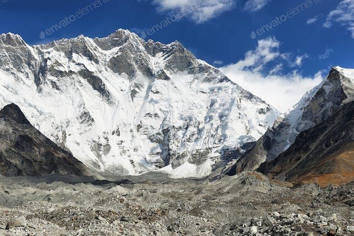Lhotse Peak Ansichten