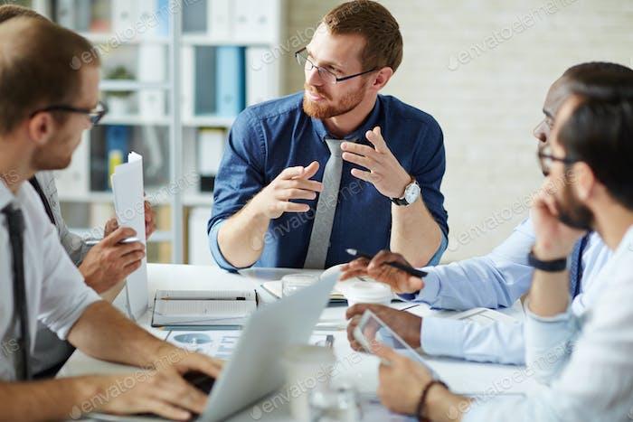 Встреча предпринимателей