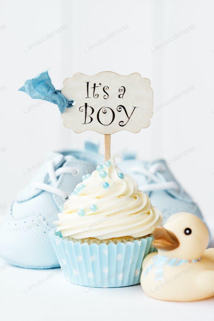Baby-Dusche Cupcake