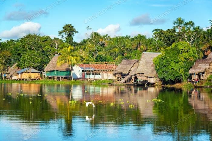 Amazon Jungle Village