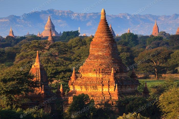 Die Tempel von Bagan, Myanmar