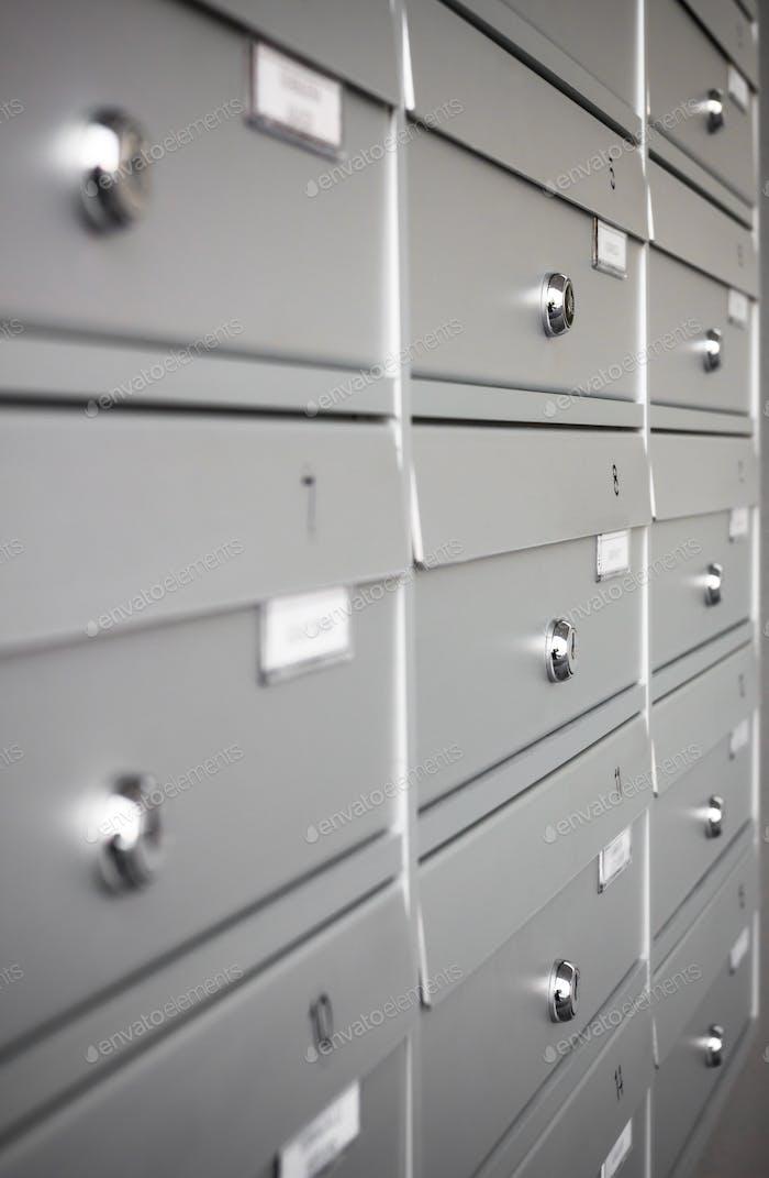 Condominium mailboxes