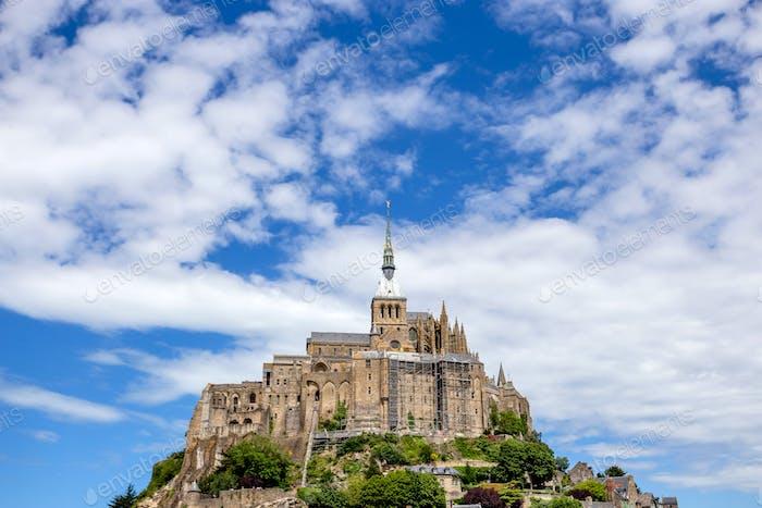 Scenic view to Mont Saint-Michel