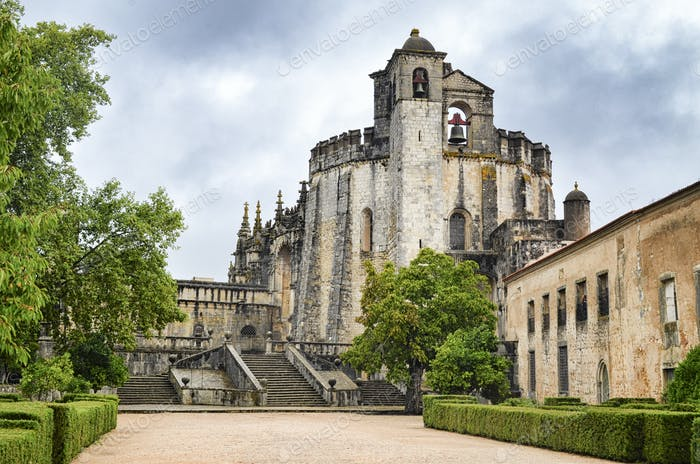 Church of the Convent of Tomar constructed by the Knights Templar