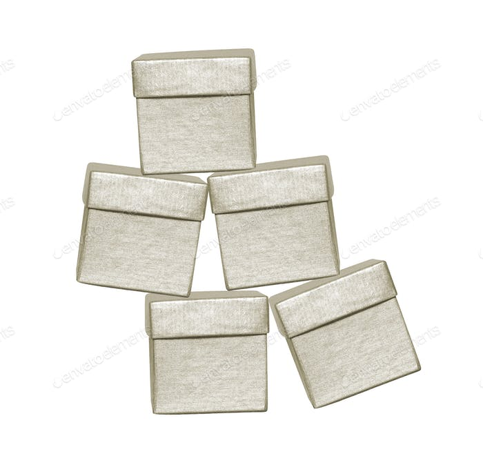 Kleine Kartons